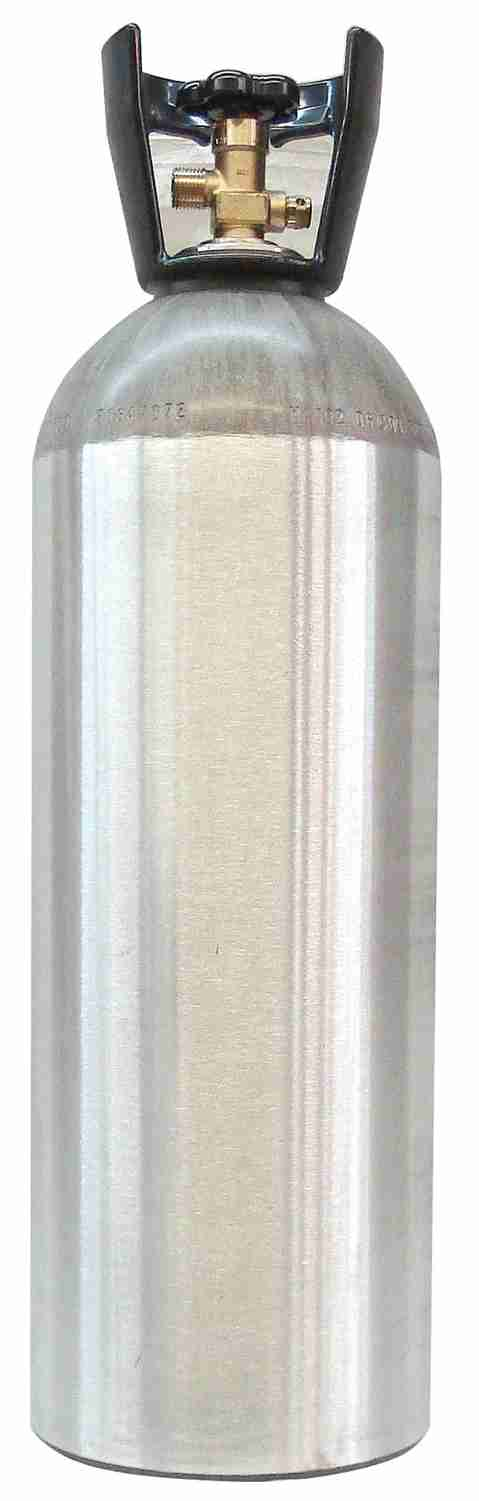 CO2 Cylinder, 20#, aluminum - EMPTY