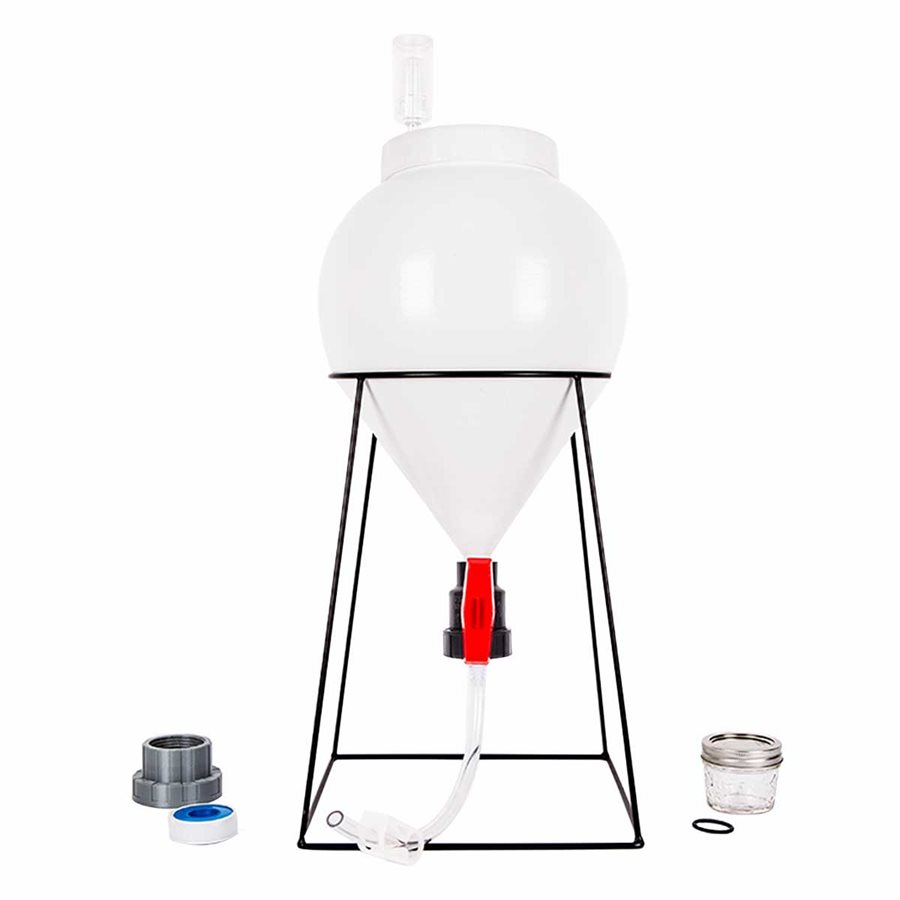 Conical Fermenter - FastFerment 3gal/11L, with stand