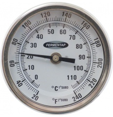 Dial Thermometer for Brewpot 2.5""