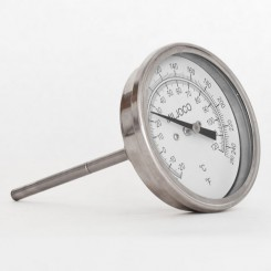 "Dial Thermometer for Brew Kettle, 1/2"" MPT"