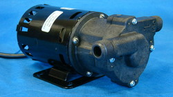 March Pump 809-PL-HS with mounting bracket