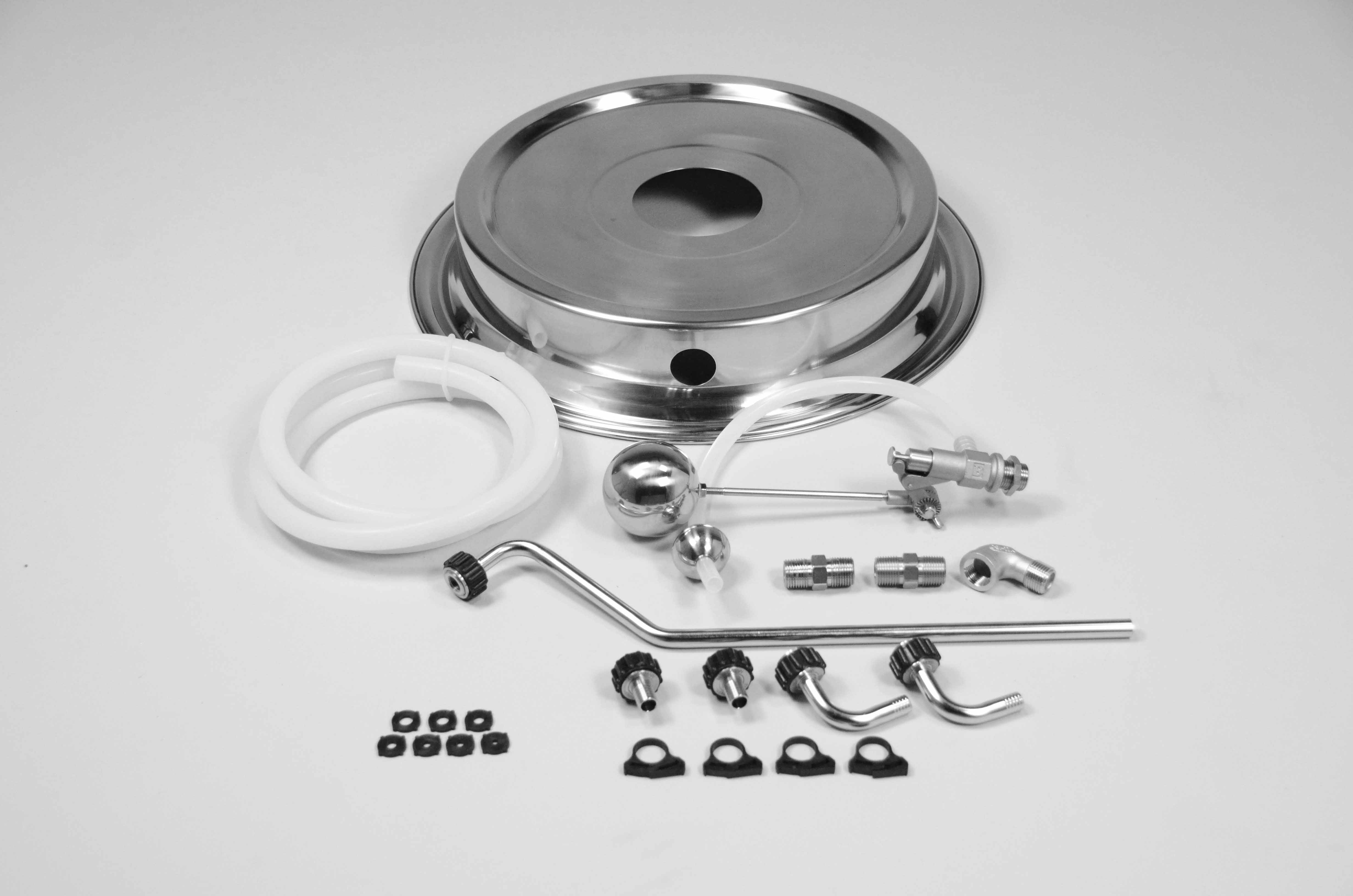 BrewEasy™ Adapter Lid Kit (G1) Blichmann - 10gal