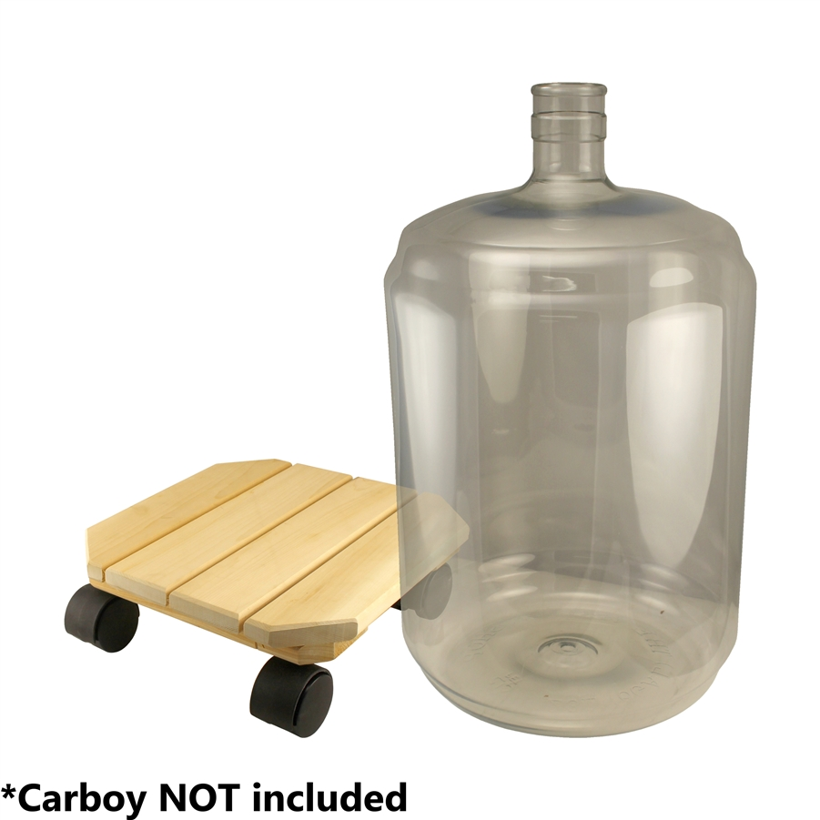 Carboy Cart with Casters