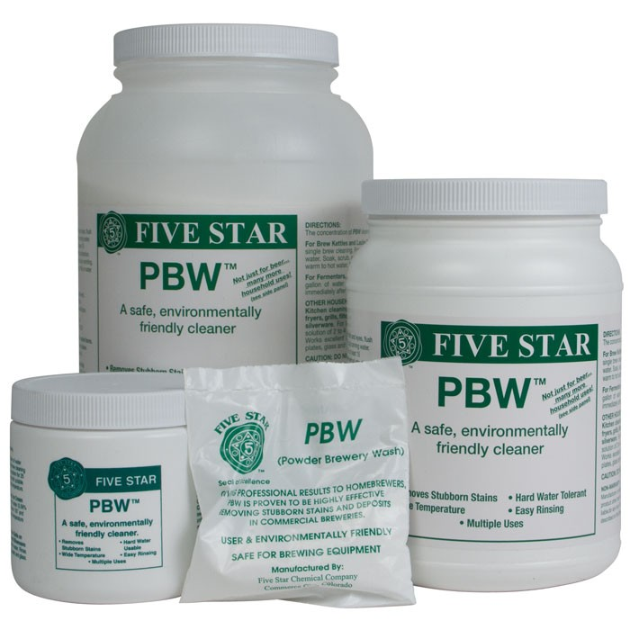 PBW Powdered Brewery Wash 1kg