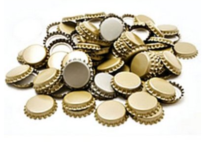 Crown Caps for Sparkling Wine, 26mm, bag of 100