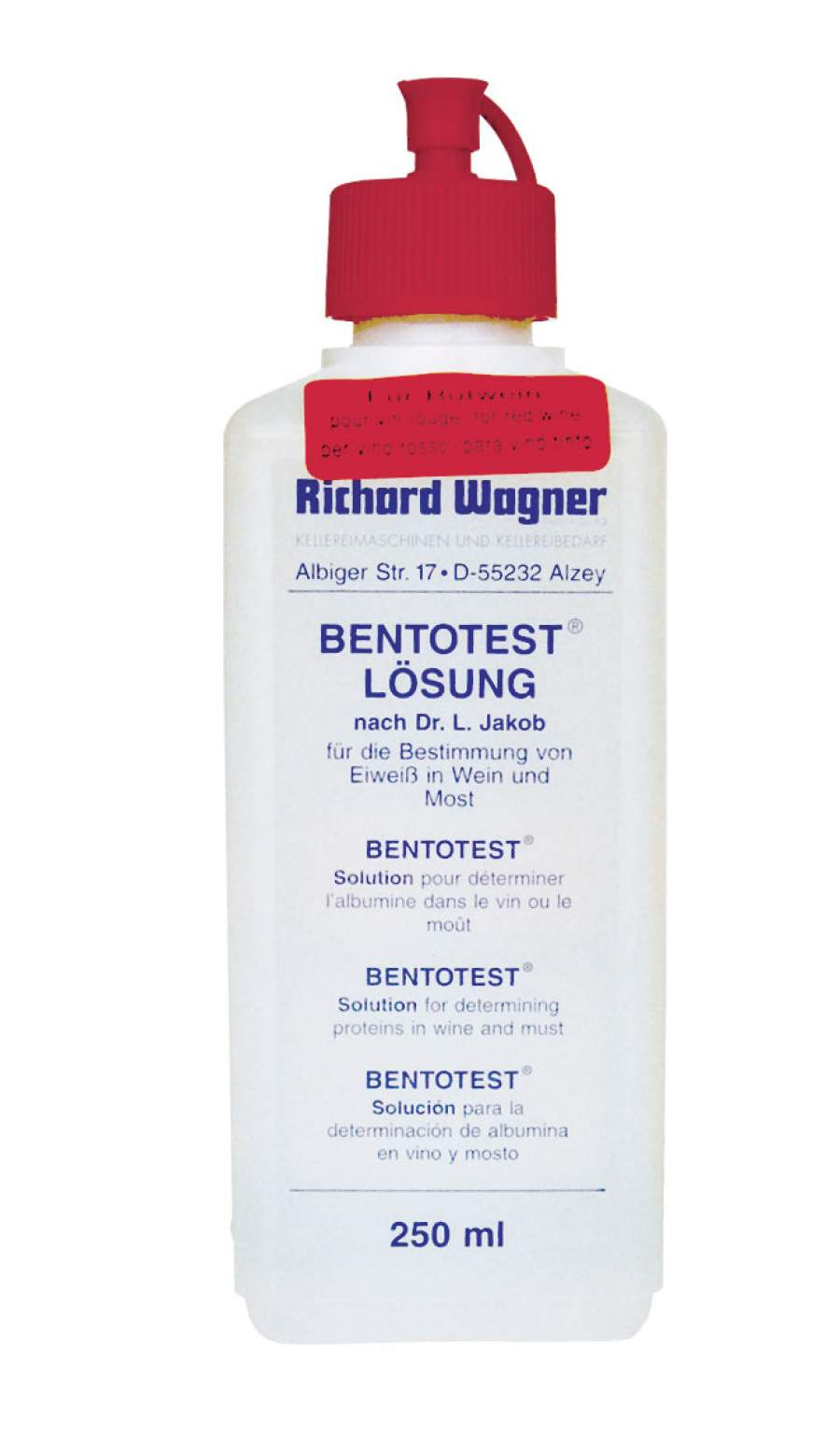 Bentotest Solution red