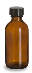 Sample Bottle - Amber Glass 100ml