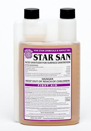 Star San Sanitizer - Various Sizes