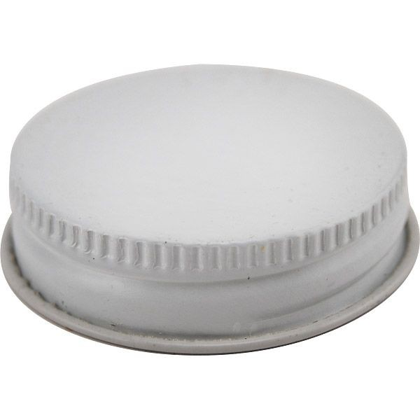 White Metal Twist Cap for Growlette