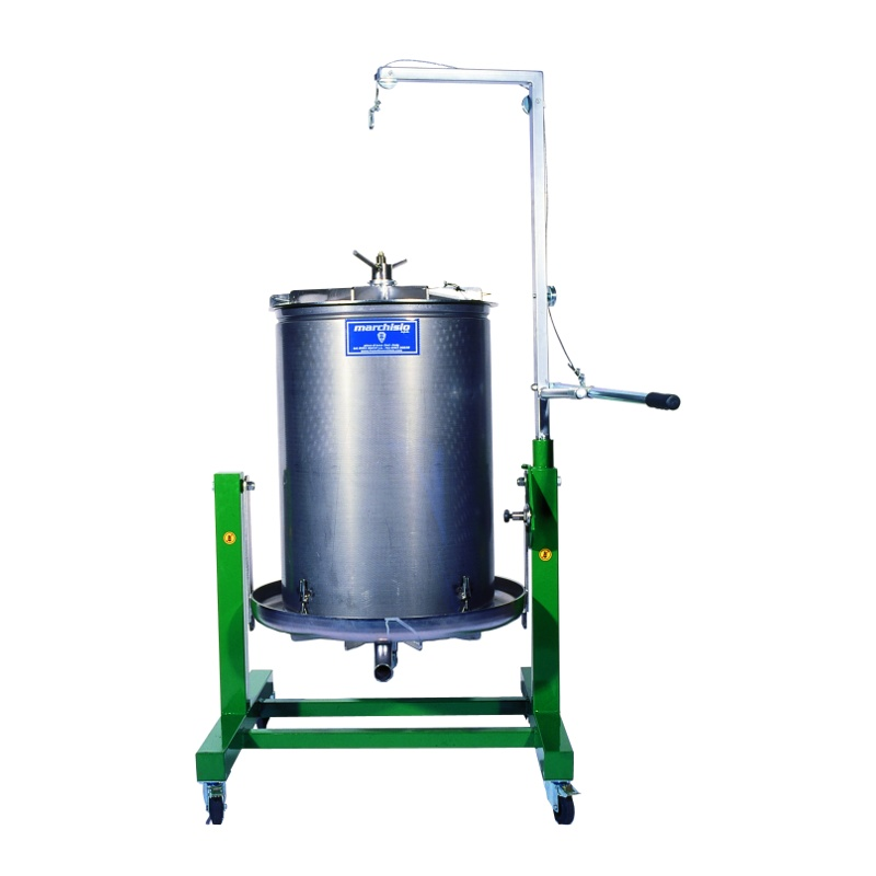 Bladder Press, All Stainless Steel - 300L