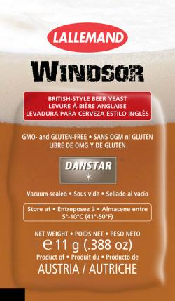 Windsor Dry Ale Yeast - 11g