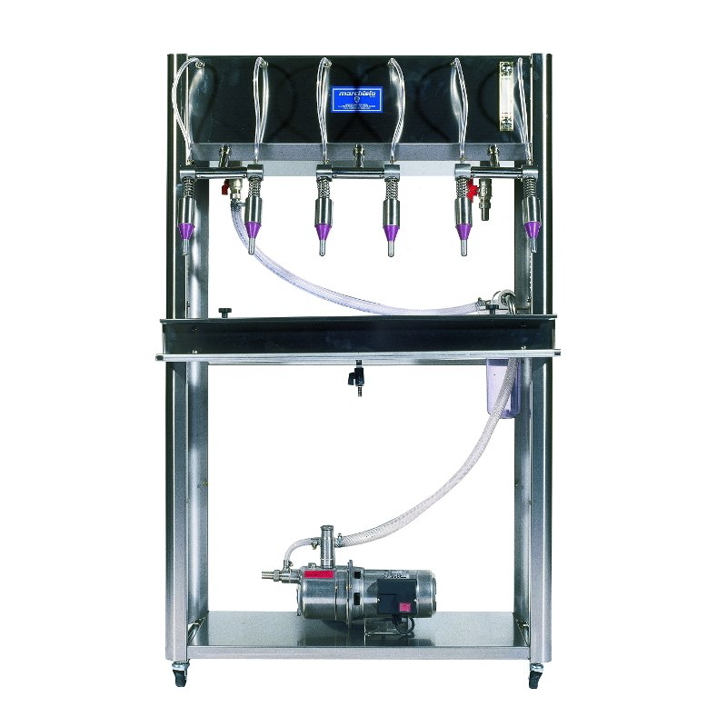 Bottle Filler UPPER 6 with Pump - Inox