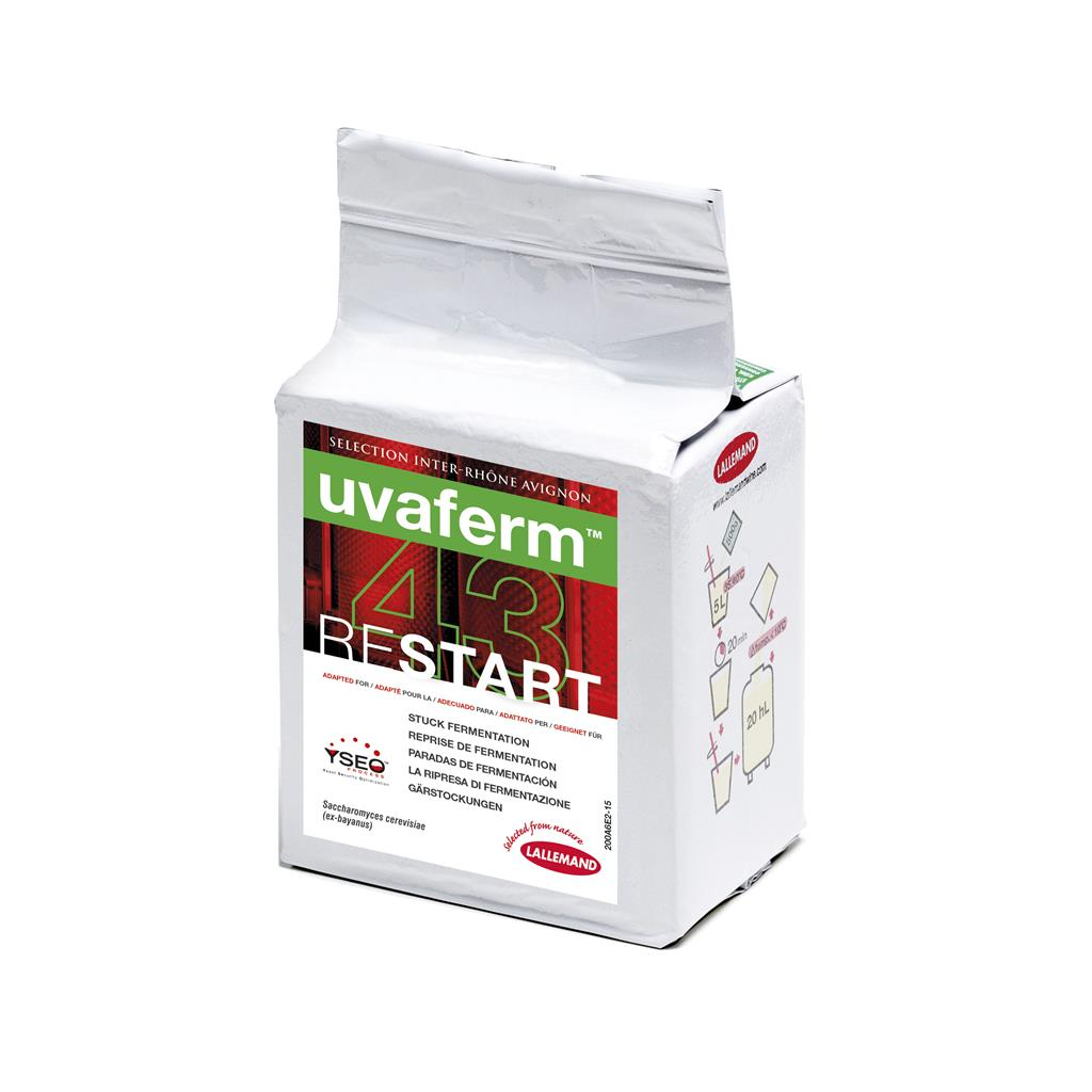 Yeast Uvaferm 43 RESTART - 500gm