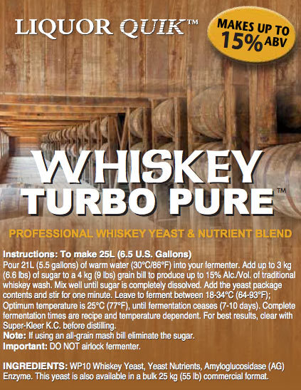 Yeast Distill - Whiskey Pure 72g