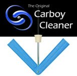 Carboy Cleaner for Drill