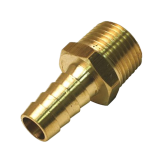 "Hose Barb Inserts - 1/4"" HZB * 1/4"" MPT Brass"