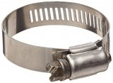 "Gear Hose Clamp - 5/16"" to 7/8"""