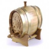 Decorative Hungarian Beeswax Dispensing Barrels - 2L, Oval