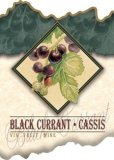 Fruit Wine Labels (pack of 30) (BLACK CURRANT)